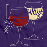 I GO BOTH WAYS Purple art preview