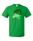 Standard Green Zodiac Aries The Ram - Horoscope Astrology Fan Star Sign T-shirt