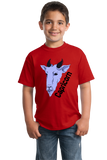 Youth Red Zodiac Capricorn - Horoscope Astrology Fan Star Sign Goat T-shirt