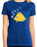 Ladies Royal Zodiac Pisces - Horoscope Astrology Fan Star Sign The Fish T-shirt