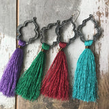 Black & metallic tassels - ROWAN + RAE designs