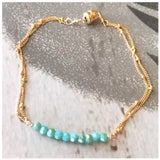 Double chain bracelet - ROWAN + RAE designs
