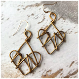 Guarded wire hearts - ROWAN + RAE designs