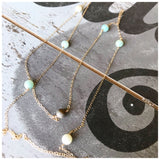 Amazonite Layering Necklace - ROWAN + RAE designs