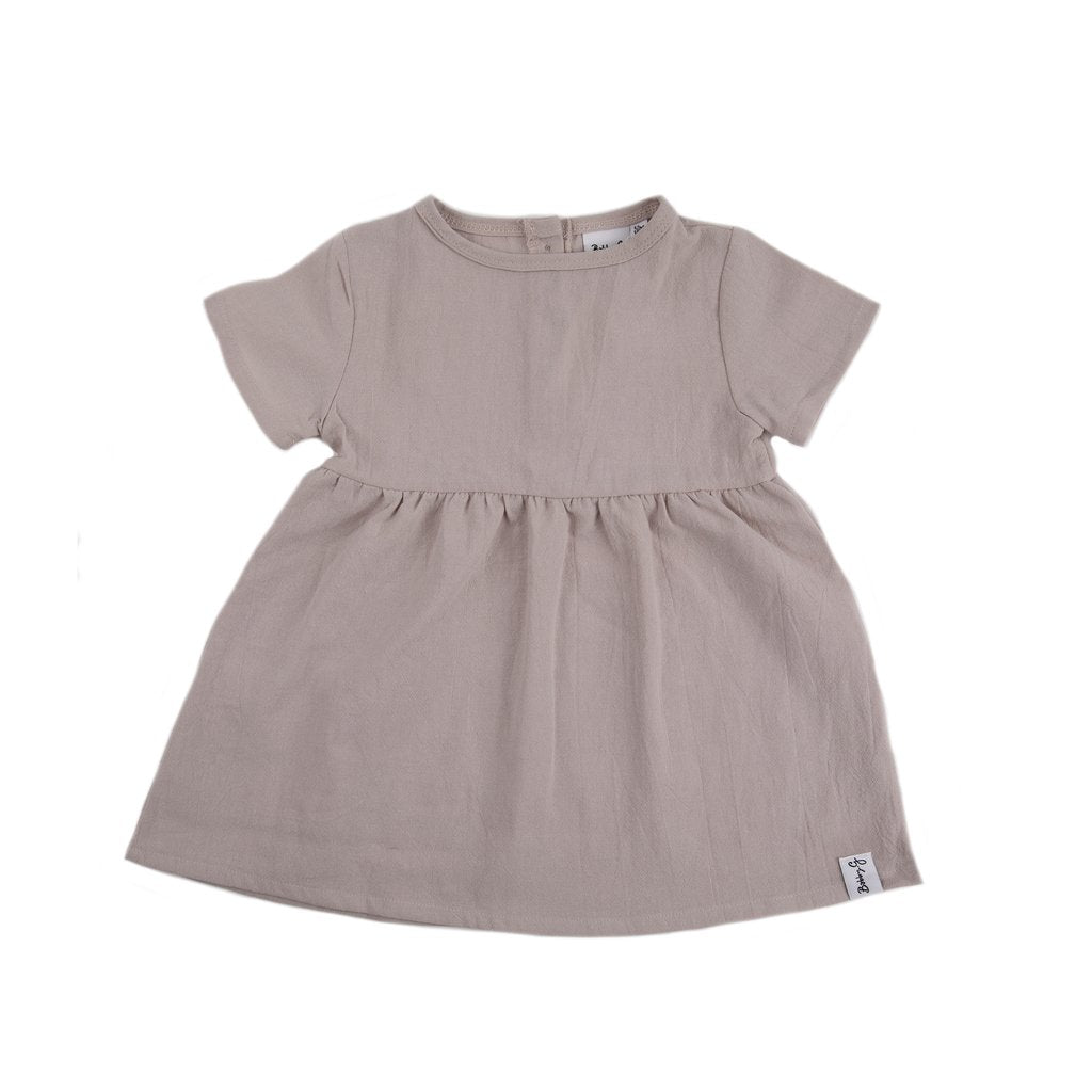 LINEN DRESS - PINK DAISY