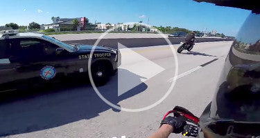 SUPERMOTO ESCAPES FLORIDA STATE TROOPER!