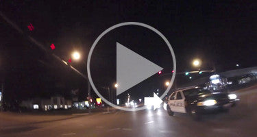POLICE CHASE R6 REARVIEW GOPRO CAM