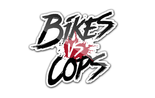 STICKER - BIKES VS COPS (SINGLE)