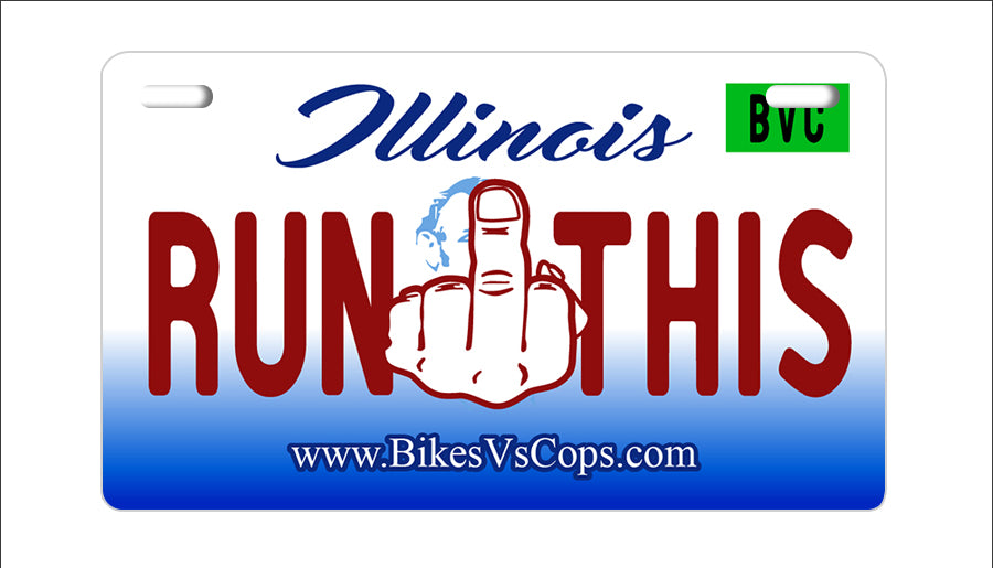 RUN THIS PLATE - ILLINOIS