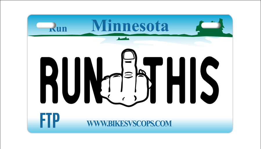 RUN THIS PLATE - MINNESOTA