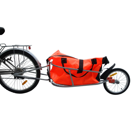 Bicycle Trailer One Wheel with Luggage Bag