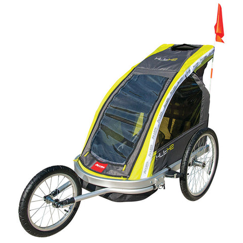Allen Sports - 2 Child Premier Alum Racing Trailer/Jogger XLT-X2