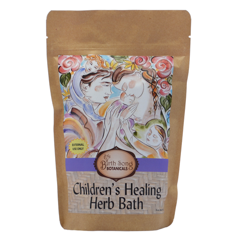 Children's 3-in-1 Healing Herb Bath - Bath, Steam & Gargle