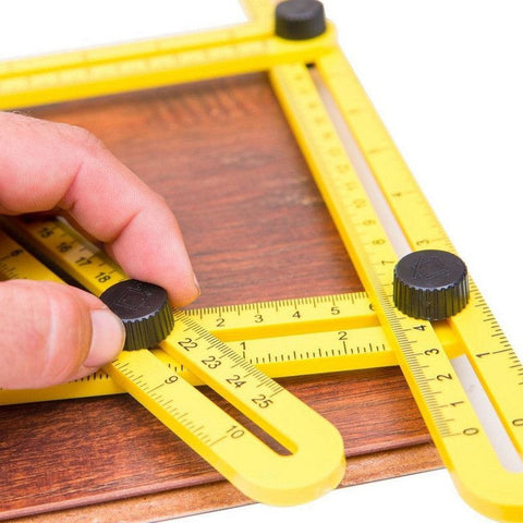 Angle-izer Template Measuring Ruler Tool - 1 Tool all uses