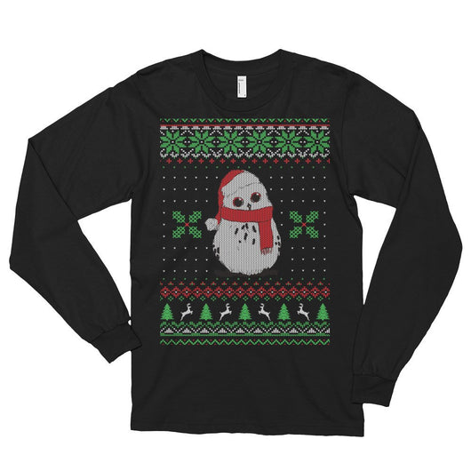 Awesome 2017 Ugly Christmas Cutie Owl Long Sleeve Tees Limited Edition Only -