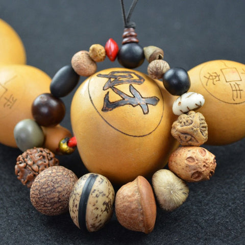 Premium Tibet Buddhist Buddha bracelet with 18 types of Bodhi Seed Mala