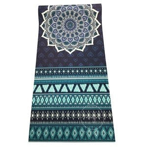 Premium Chakra Tapestry Meditation Yoga Mat + Bag