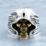 Doctor Doom / Darth Vader Skull Ring SteamPunk Rider Ring