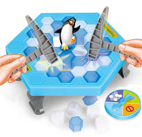 Authentic Ice Breaking Penguin Trap Game - Game of the Year 2017