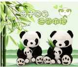 Very Very Cute Panda + Baby Panda Plushy Set - 30cm