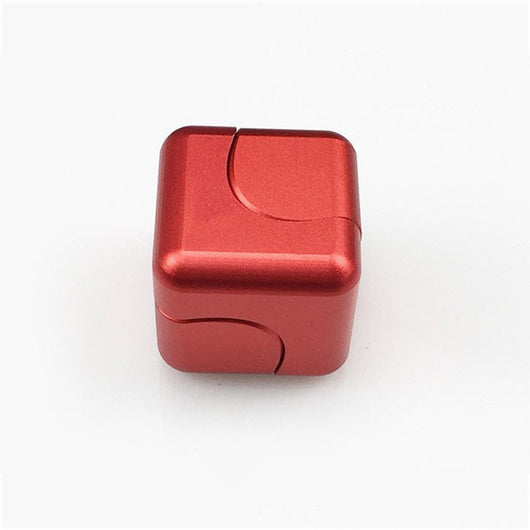 Plastic Fidget Square Cube Spinner EDC for ADHD