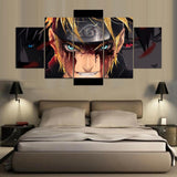 Naruto After Battle Mode 5 Pieces Canvas Wall Art