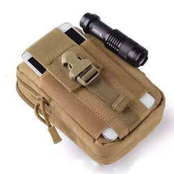 Awesome Army Military Tactical Waist Pouch for multi use and flashlight