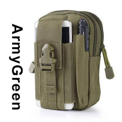 Tactical Army Waist Pouch for Military Standard