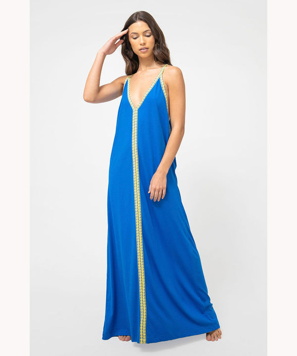 Blue Boho Dress UAE