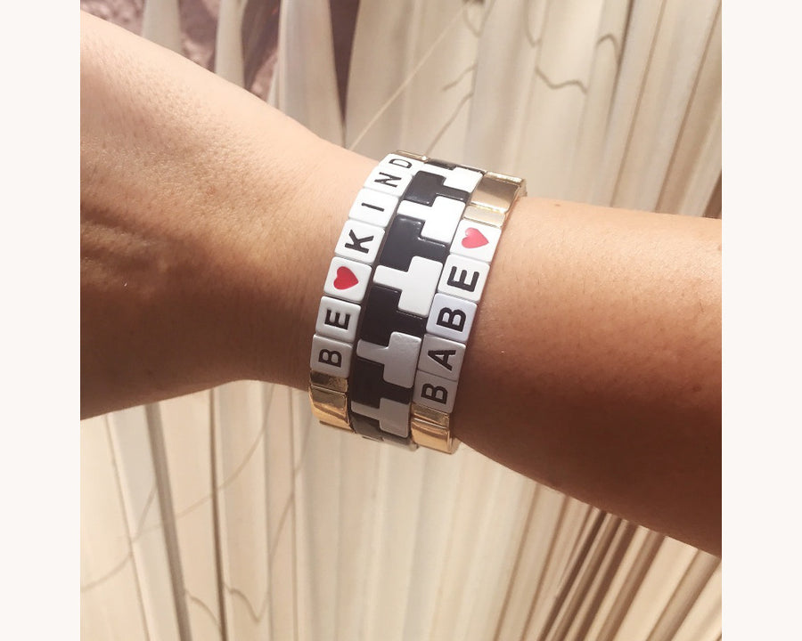 Bracelet 'Colorblox Be Kind'