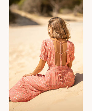 Open back dress
