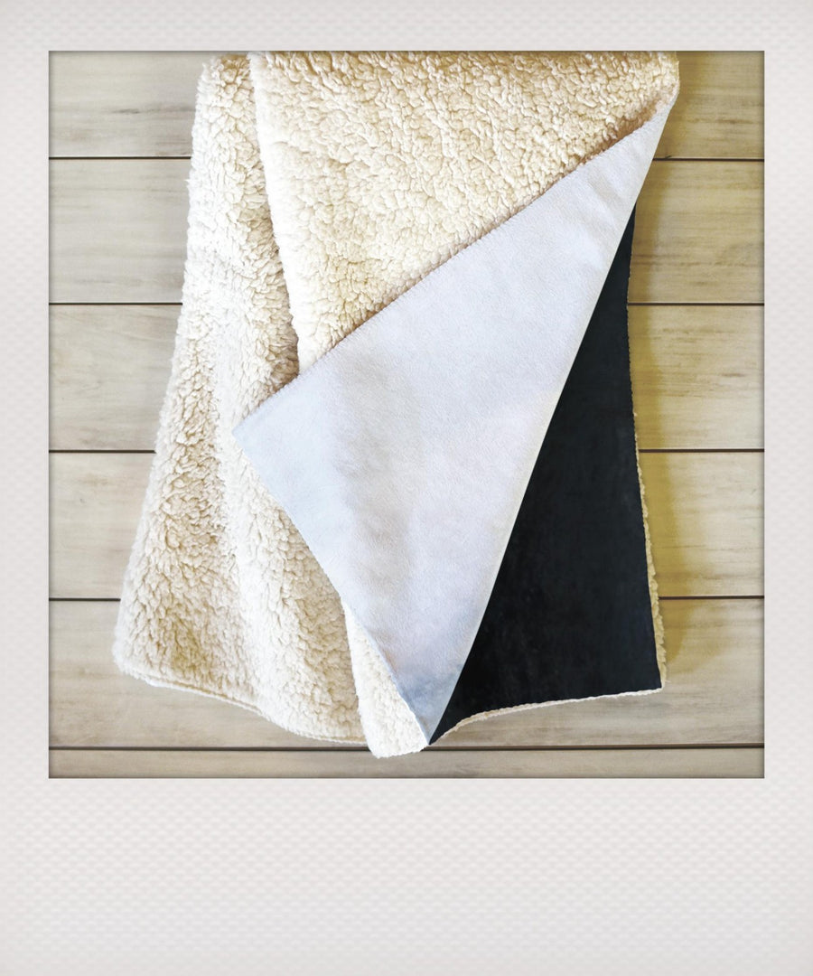 Within the Tides Sherpa Blanket