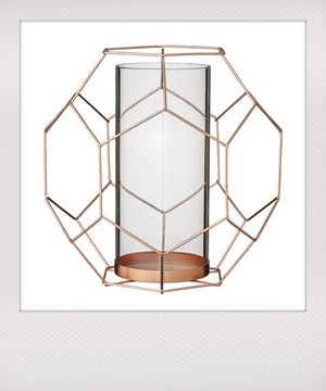 Bloomingville votive copper