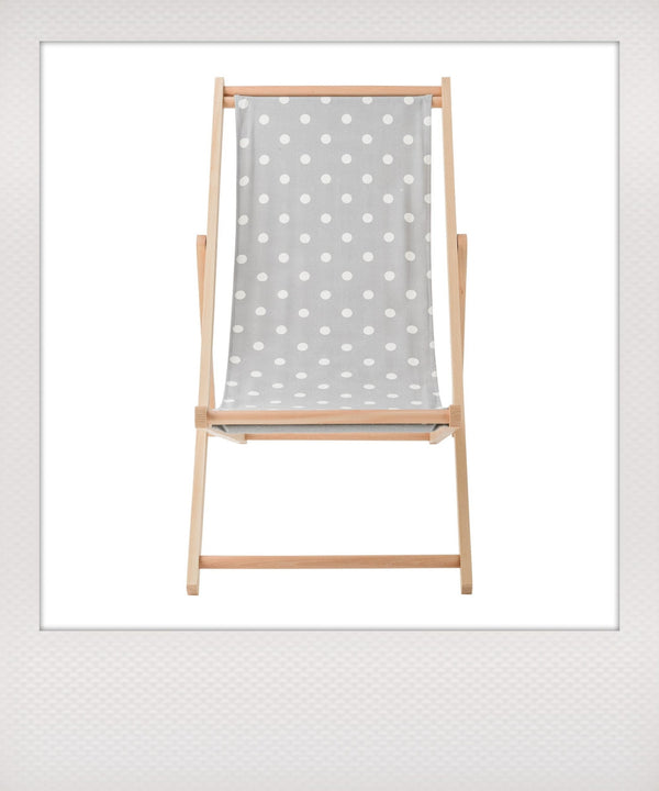 Polka Dots Deck Chair