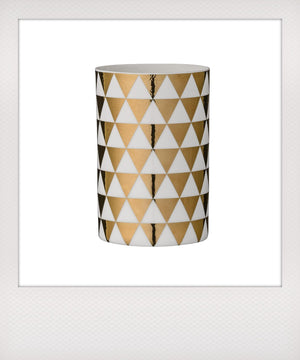 Gold Triangle Votives Set
