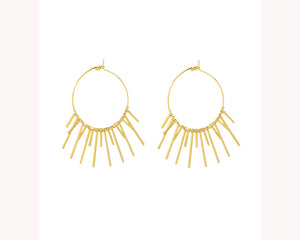 Spike hoop earrings Dubai