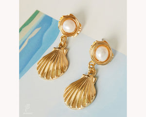 Boho Earrings Gold auh