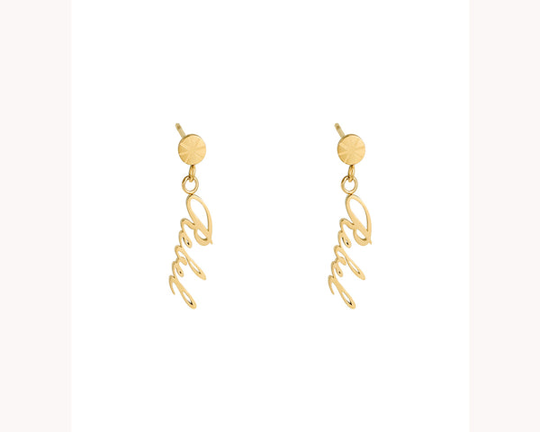 Rebel Statement Earrings Dubai