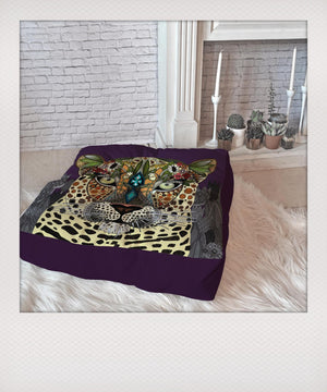 Leopard Queen Floor Pillow