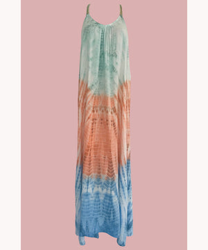 Boho tie dye dress Dubai