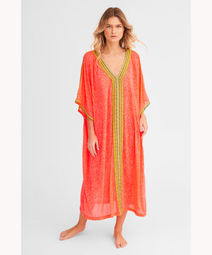 Watermelon Beach Cover Up Kaftan UAE