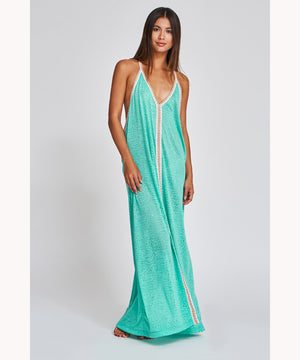 PITUSA LONG DRESS MINT