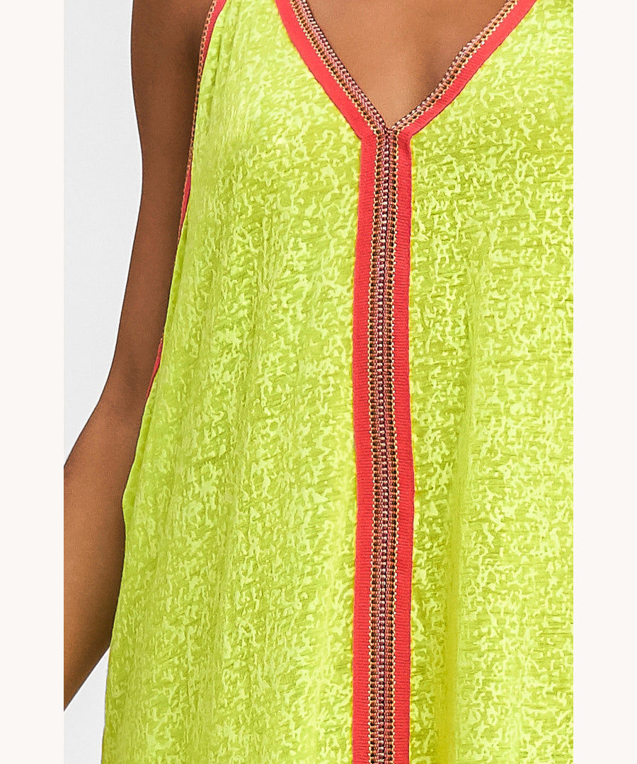 Lemon boho sundress in UAE
