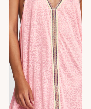 Beachdress Pink Cheetah