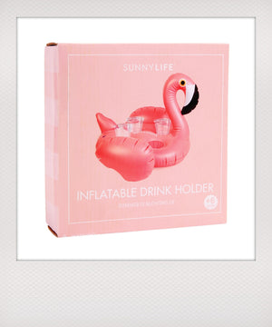 Flamingo Drinkholder Float
