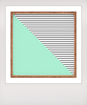 Mint & Stripes Tray