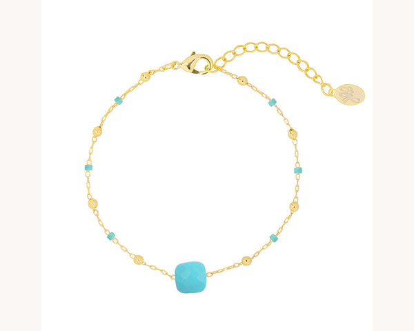 Bracelet 'Shine On Turquoise'