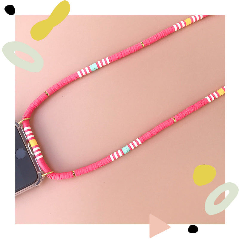 Pink Phone Case Strap UAE