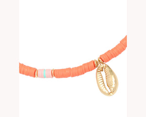 Gold Plated Shell Necklace UAE