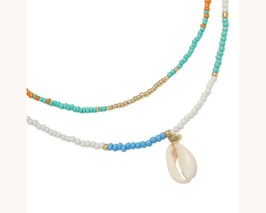 Necklace 'Summer Shell'